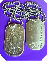 Dog tag tags militar